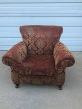 Beautiful floral upholstered chair EUC in Chicago, Illinois