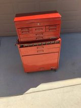 2 Piece Roll-Away Tool Box with Tools in Fairfield, California