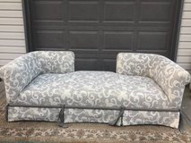 Beautiful floral couch grey & white good condition in Joliet, Illinois