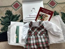 Retired American Girl Plaid Jumper and Blouse in Bartlett, Illinois