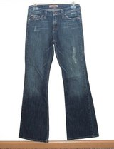 Paris Blues Lightly Distressed Flare Denim Jeans Womens 5 Juniors Stretch in Morris, Illinois