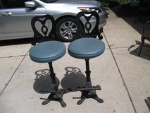 2 IRON BAR STOOLS OR COUNTER STOOL in Tinley Park, Illinois