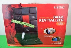 Homedics Body Revitalizer 5-Motor Massage Mat with Heat in Cleveland, Texas