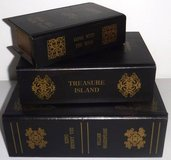 Set of 3 Classics ~ Secret Storage Book Box Decor in Chicago, Illinois