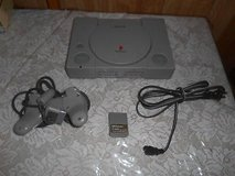 Sony PlayStation PS1 Console, 1 Controller, 1 Memory Card, + Power Cord. in Spring, Texas