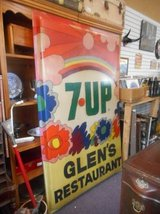 Vintage 7UP Sign in Elgin, Illinois