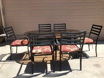 7-Pc Glass Top Patio Set with Cushions in Fairfield, California