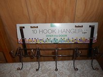New 10 Hook Clothes or Hat Hanger that fits on Doors! in Spring, Texas