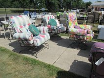 Choice of Colorful Outdoor Comfy Chairs - Merchandise Mart Floor Samples in Bolingbrook, Illinois