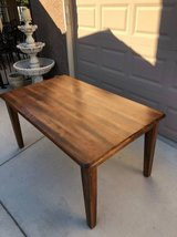 Solid Wood Dining Table in Travis AFB, California