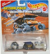 NEW Vintage 1996 Hot Wheels Action Pack JPL Sojourner Mars Rover Mission Pathfinder & Lander in Yorkville, Illinois
