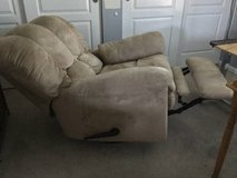 Upholstered recliner chair in Schaumburg, Illinois