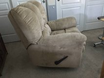 Upholstered recliner chair in Elgin, Illinois