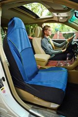 Iconic Pet - FurryGo Pet Single Car Seat Cover - Navy Blue # 51720 in Aurora, Illinois
