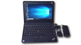 IBM X131e Laptop Notebook with Power Adapter Windows 10 Professional in Baytown, Texas