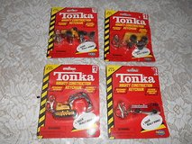 1998 TONKA Mighty Construction Vehicles w/ Detachable Keychain - Set of 4 in Spring, Texas