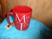 Large Red Ceramic Hot Chocolate, Tea, or Coffee Mug! in Spring, Texas