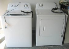 Amana Washer and Dryer in Lockport, Illinois