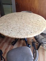 Kitchen Table and 4 Swivel Chairs in Chicago, Illinois