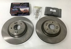 Front Rotors & Pads Set for Hyundai Genesis Coupe - Brembo Replacement in Oswego, Illinois