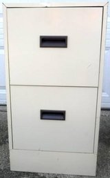 2 Drawer Metal File Cabinet - No Lock in Lockport, Illinois
