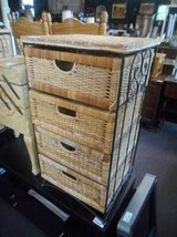Occasional Wicker Chest in Elgin, Illinois
