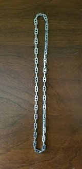 "stainless steel heavy silver link chain 24"" in St. Charles, Illinois"