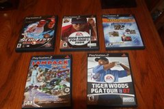 Choice of Five (5) PS2 Games Complete $6.00 Each in Spring, Texas