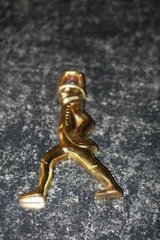Vintage Brass Hessian Soldier by Virginia Metalcrafters in Houston, Texas