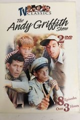 NEW TV Classics The Andy Griffith Show 2 Disc DVD Box Set 8 Episodes in Joliet, Illinois