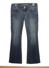 American Eagle ARTIST Lightly Distressed Denim Jeans 6 Short 6S 6 S x 30 Bootcut in Morris, Illinois