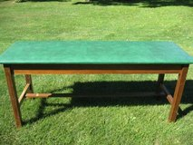 VINTAGE / ANTIQUE  WOOD TABLE  EXAM  THERAPY  MASSAGE in Elgin, Illinois