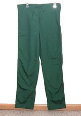 NWT Dilly Uniform Green Scrub Pants Unisex XS Measures 33 x 30 Xsmall Mens Women in Yorkville, Illinois