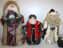 Father Christmas Tree Topper ~ Santa Claus - Choose from 3 in Bolingbrook, Illinois