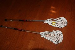 TWO STX PROTON U 2010 LACROSSE HEAD ON AMP STICK in Spring, Texas