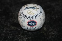 1997 HOUSTON ASTROS AUTOGRAPHED KROGER Promo BASEBALL in Spring, Texas