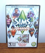 NEW The Sims 3 PLUS Seasons PC DVD Base Game & Expansion Pack SEALED Windows Mac in Joliet, Illinois