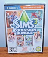 NEW The Sims 3 Expansion Bundle PC DVD 2 Game In 1 World Adventures Generations in Joliet, Illinois