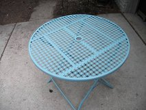 OUT DOOR INDOOR METAL TABLE in Bolingbrook, Illinois