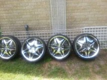 AKUZA Road Concepts Universal Wheels w/Tires in Cleveland, Texas