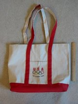 X-Large USA Olympic Rings Team tote bag in Colorado Springs, Colorado