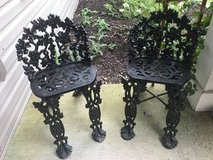 ANTIQUE CAST IRON CHAIRS in Bolingbrook, Illinois