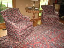 2 Colorful Matching Accent Chairs in Plainfield, Illinois