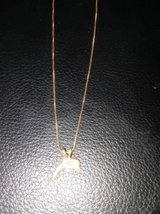 14k gold dolphin necklace in Fort Rucker, Alabama