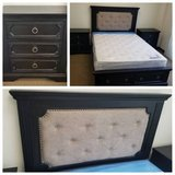 New! QUEEN Size Tufted Headboard with Storage Bed Frame FREE DELIVERY in Camp Pendleton, California