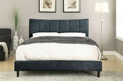 New! Blue Padded FULL or QUEEN Bed Frame FREE DELIVERY in Camp Pendleton, California