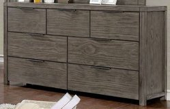 New! Hardwood Gray Dresser FREE DELIVERY in Camp Pendleton, California