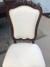 4 dining chairs upholstered Thomasville in Chicago, Illinois