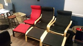 Reclining Chair and Ottoman Set of 2 $25 each in Quantico, Virginia