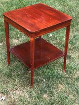 Mahogany end table in Naperville, Illinois